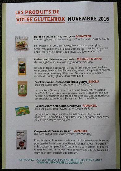 La Gluten Box de Novembre