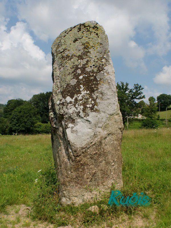 Menhir de Pécut ou de la Pierre des Fées ou de la Pierre Berce, Naillat