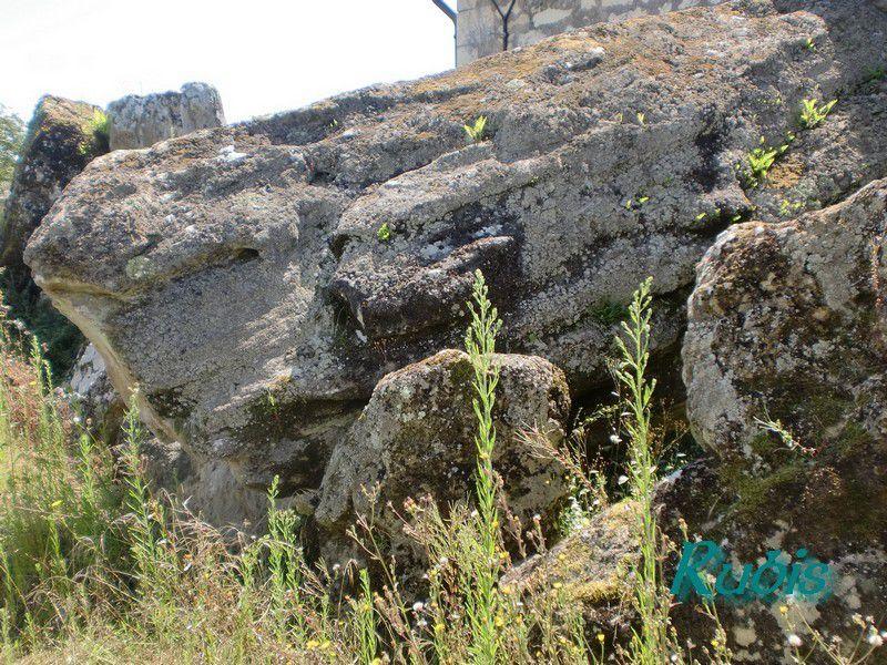 Allée couverte du Gros Chillou de Briançon, Cravant les Côteaux
