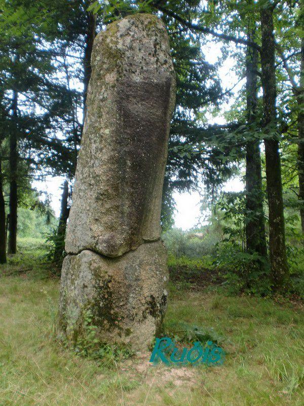 Menhir du Pic ou de Peyresourde, Javerdat