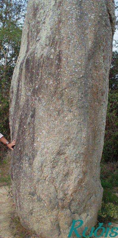 Menhir de la Boilière, Avrillé