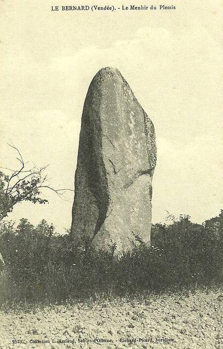 Menhirs du Plessis, Le Bernard