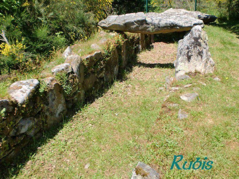 Allée couverte de Mané Roullarde ou Mané Roullad ou Er-Roh, La Trinité sur Mer