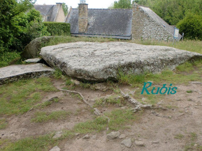 Dolmen de Mané Lud ou de Mané Nélud ou Mané Helleu, Locmariaquer
