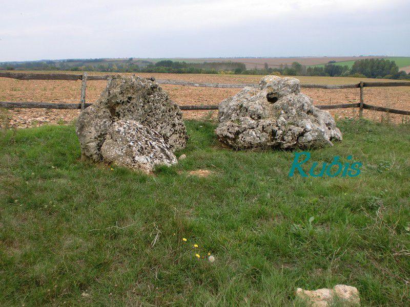 Dolmen de la Pierre Virante, Xanton Chassenon