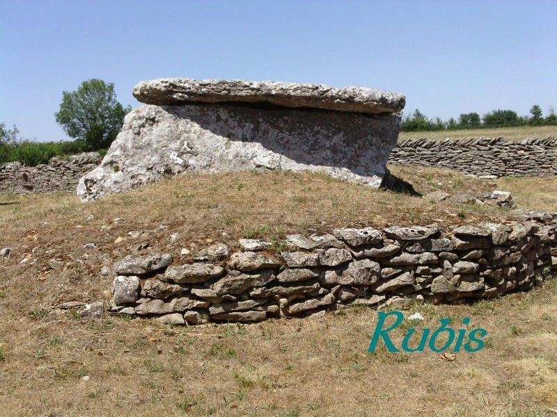 Dolmen des Sept Chemins, Bougon