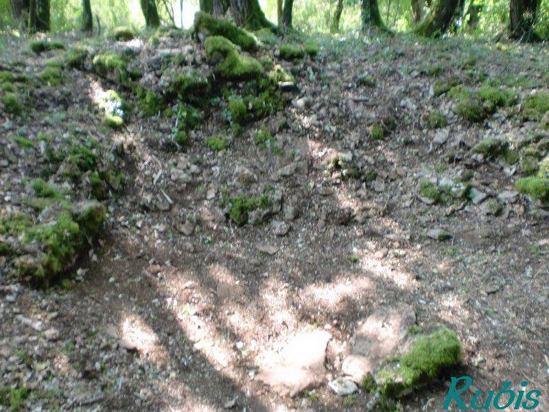 Dolmen A d'Arlait, Château-Larcher