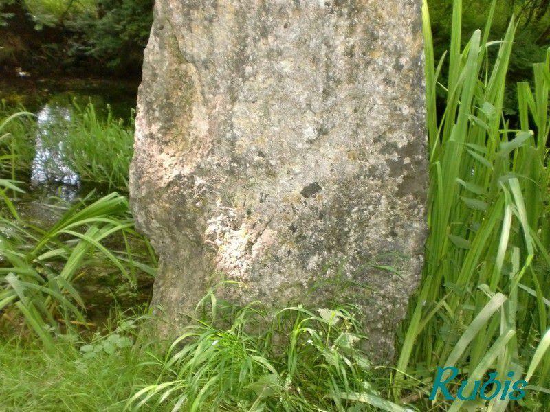 Menhir du Vivier-Jusseau ou Vivier Jussaud, Chives