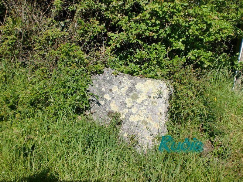 Menhirs de la Croterie ou des Trois Pierres de la Croterie ou Chevanou, Chauvé