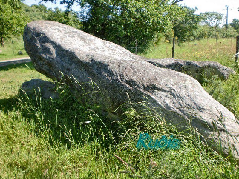 Dolmens des Trois Pierres de la Croterie ou des Pletennes, Chauvé