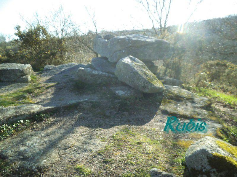 Pierre druidique ou pierre branlante de la Tour, La Verrie