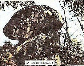 Pierre Branlante du Grand Jardin ou de la Cornetière, Avrillé