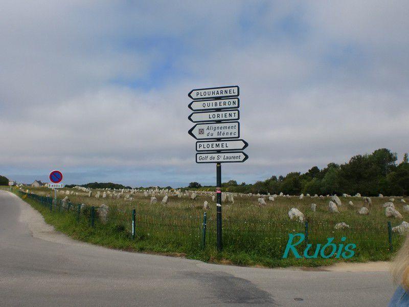 Alignements du Ménec, Carnac