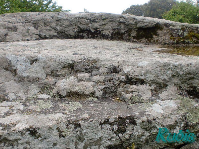 Dolmen du Mané Retual ou Mané Rethuel ou Mané Rutual ou Tombeau de la Sorcière, Locmariaquer
