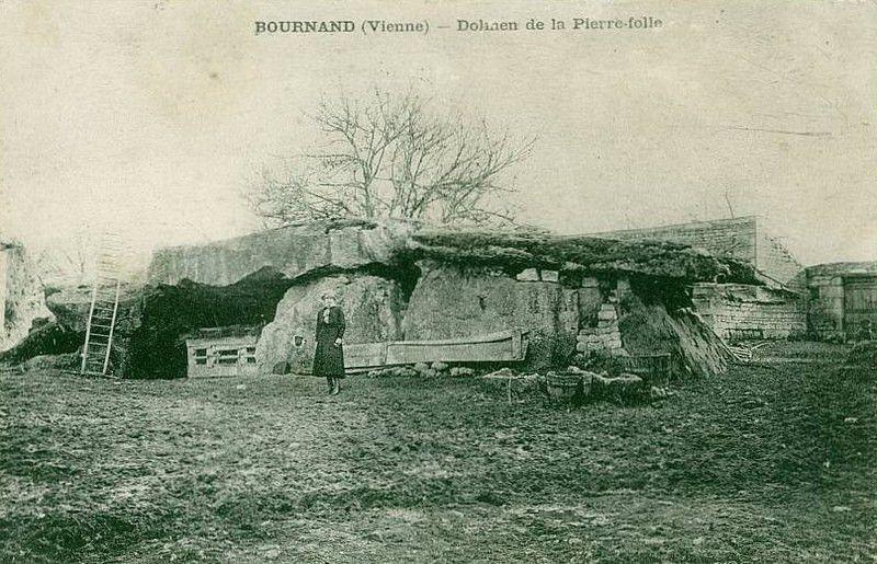 Allée couverte de la Pierre Folle des Ormeaux, Bournand