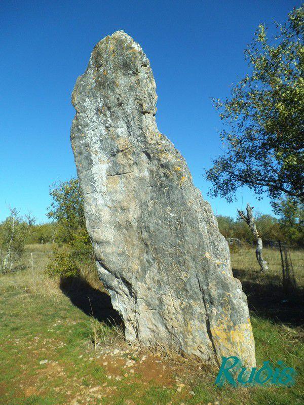 Menhir de Bélinac ou de Pierre Levée, Livernon
