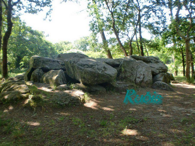 Dolmen A de Mané Croc'h ou Mané-Groh, Erdeven