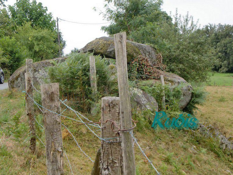 Dolmen des Chiroux, Saint Pierre de Fursac
