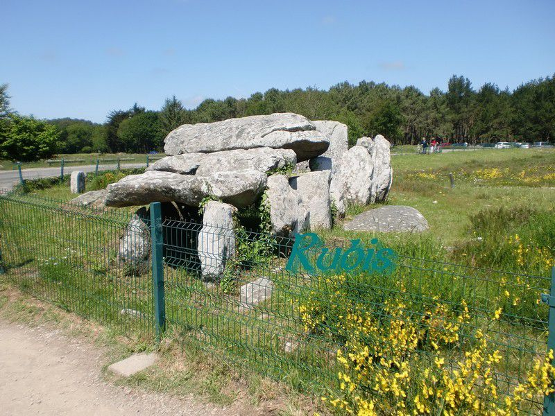 Dolmen de Kermario, Carnac