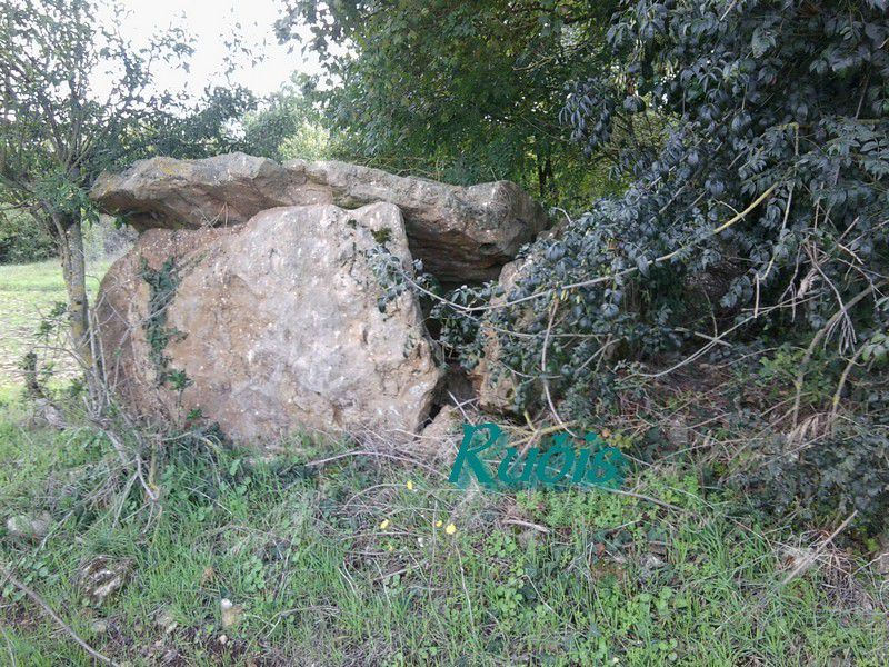 Dolmen de d'Echarbot ou de Moc-Chain ou de Moque-Chain ou de la Pierre de Moquechain, Taizé
