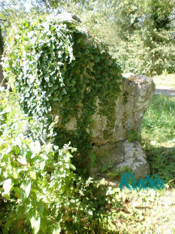 Menhir de la Grosse Pierre (ou dolmen de la Grosse Borne), Oradour