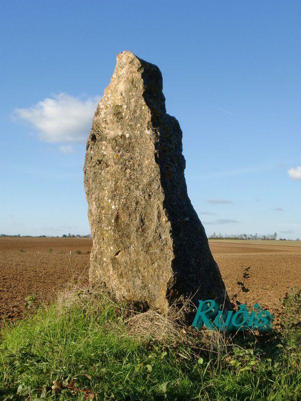 Menhir de la Vergnaude, Villefagnan