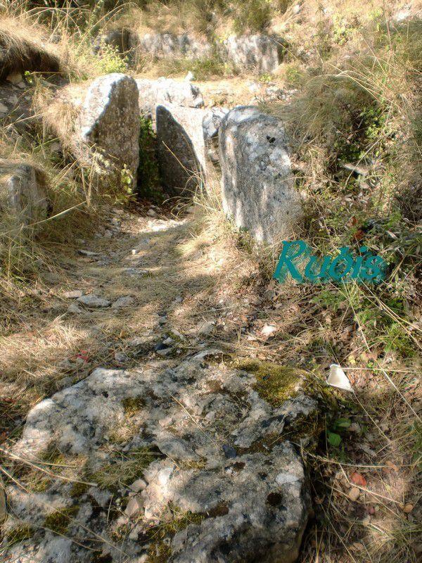 Tumulus de la Motte de la Jacquille (ou dolmen), Fontenille