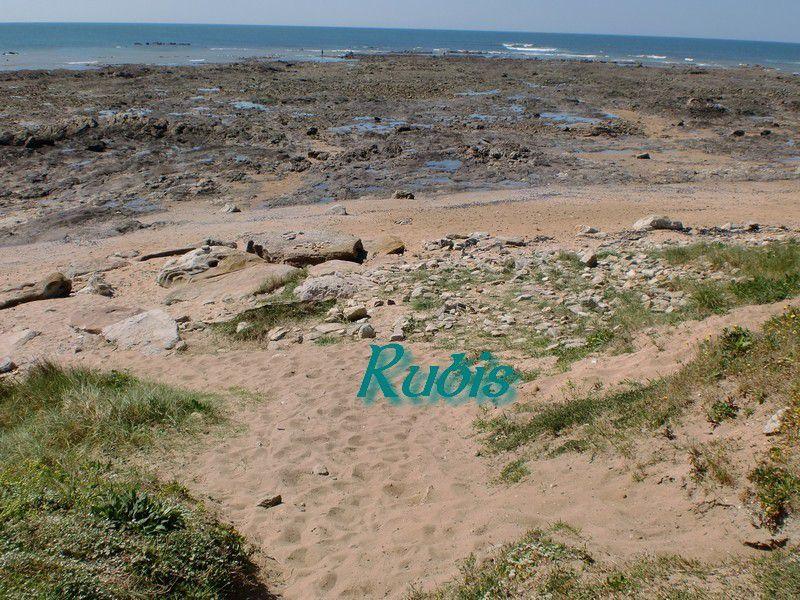 Dolmen de le Pointe de l'Herbaudière, Noirmoutier-en-l'Île