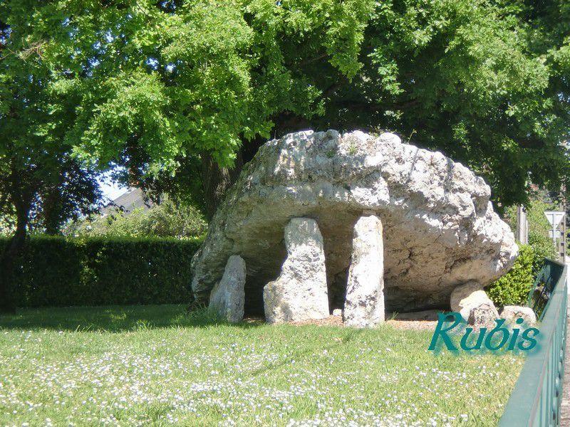 Dolmen de la Pierre Levée ou de la Pierre Levée de Saint-Saturnin ou de Petre Levata ou de Petra Sopoeze ou de Petra Suspensa, Poitiers (86)