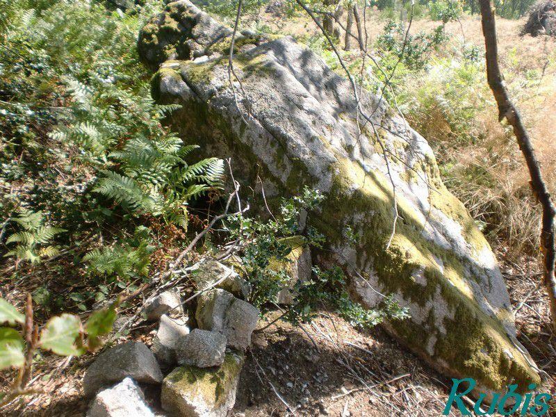 Menhir de la Pierre Courbe, Vallière