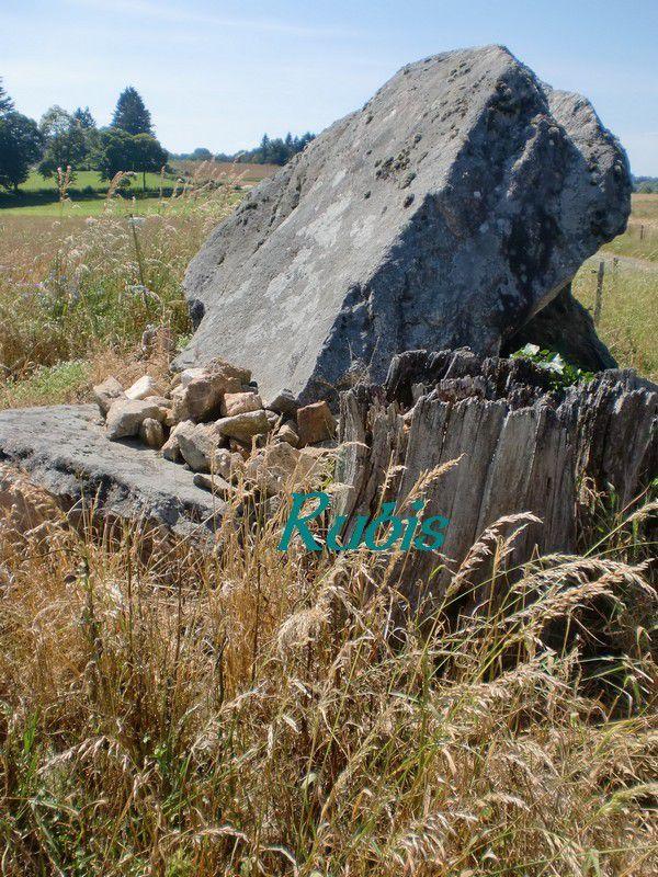 Dolmen du Reinex ou du Rainex, La-Croisille-sur-Briance