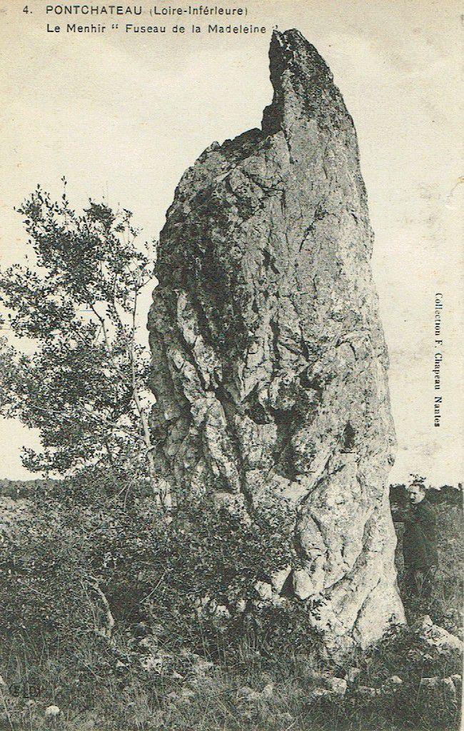 Menhir du Fuseau de la Madeleine, Pontchâteau