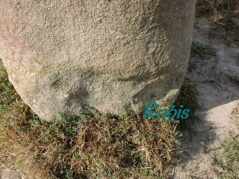 Menhir de Rudesse, Bouée