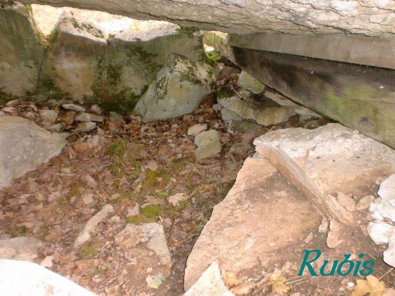 Dolmen de Peyra-Levada ou de Peyre-Levade ou de Bontemps, Limeyrat