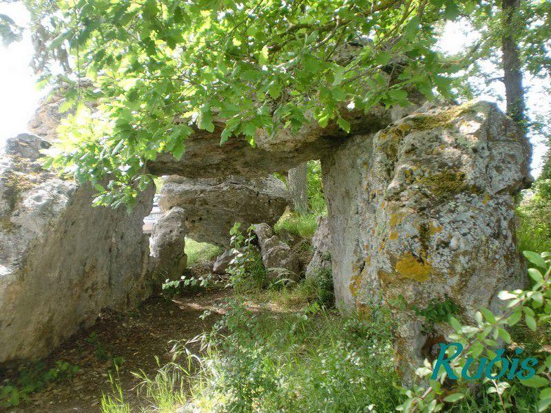Allée couverte de Blanc ou de Peyre Levado ou de Grotte de la Vierge, Nojals-et-Clotte