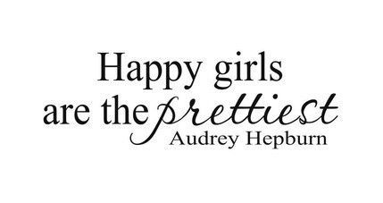 Happy girls are the prettiest!
