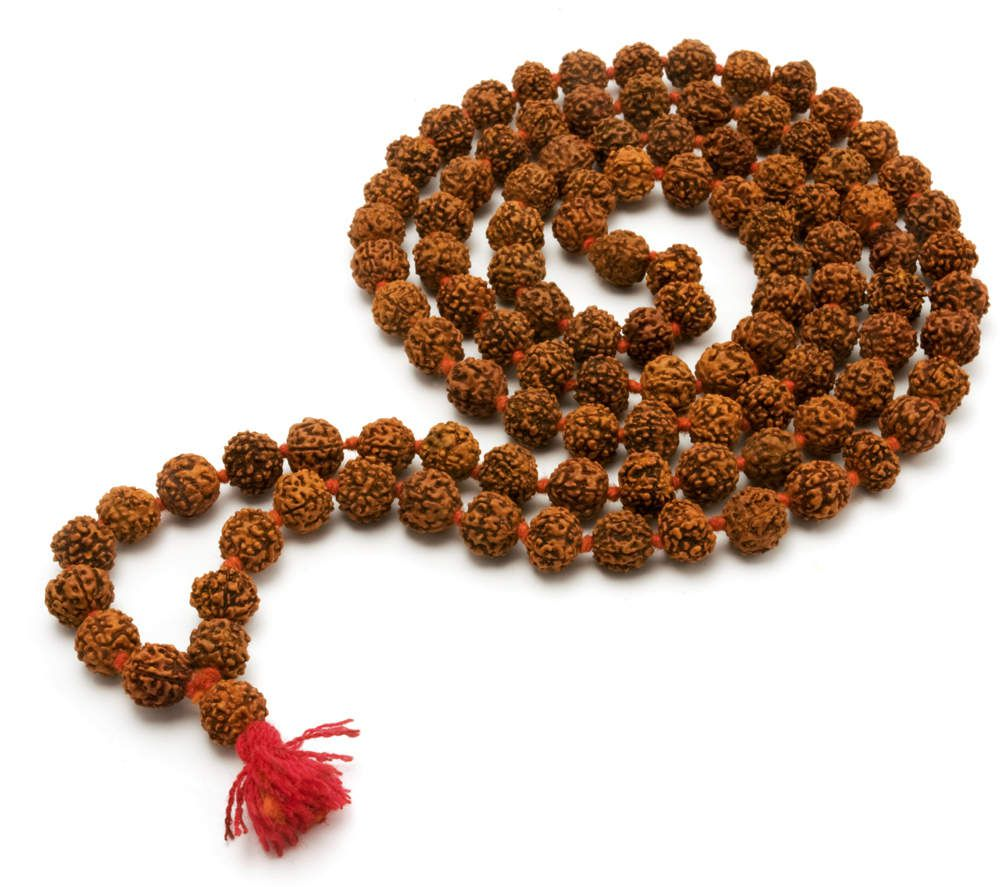 On a mala, or set of mantra counting beads, there are generally 108 beads, or some fraction of that number. The question often arises: Why are there 108 beads on a mala?