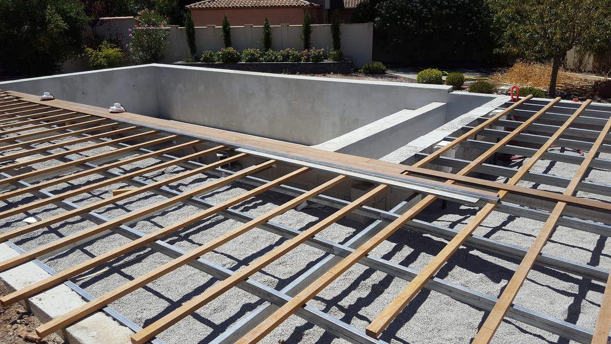 Terrasse Ipé 21 X 140 Sur Lambourde Badi Et Structure ...