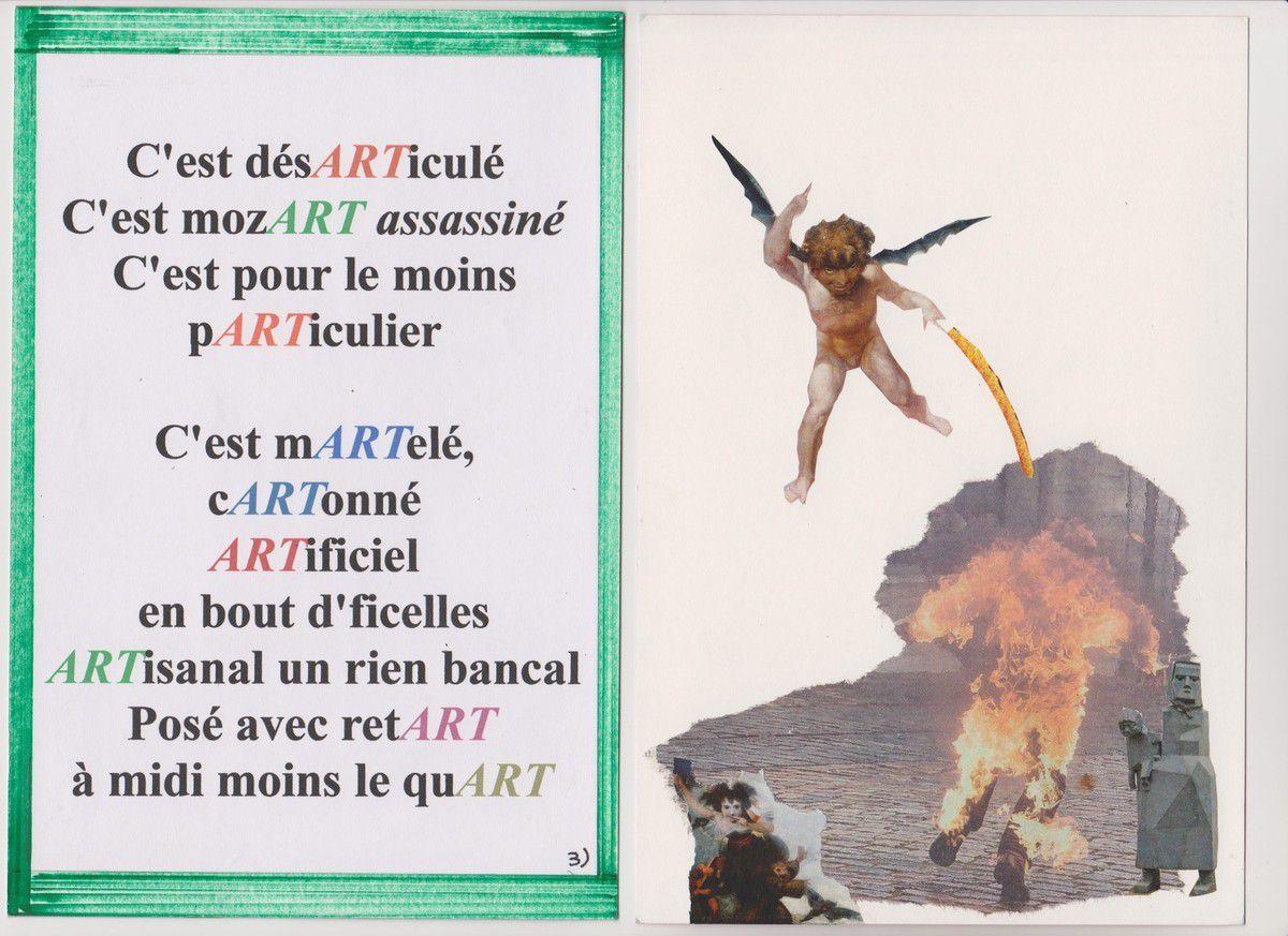 l'ART est pARTout, livre unique d'Alain Helissen