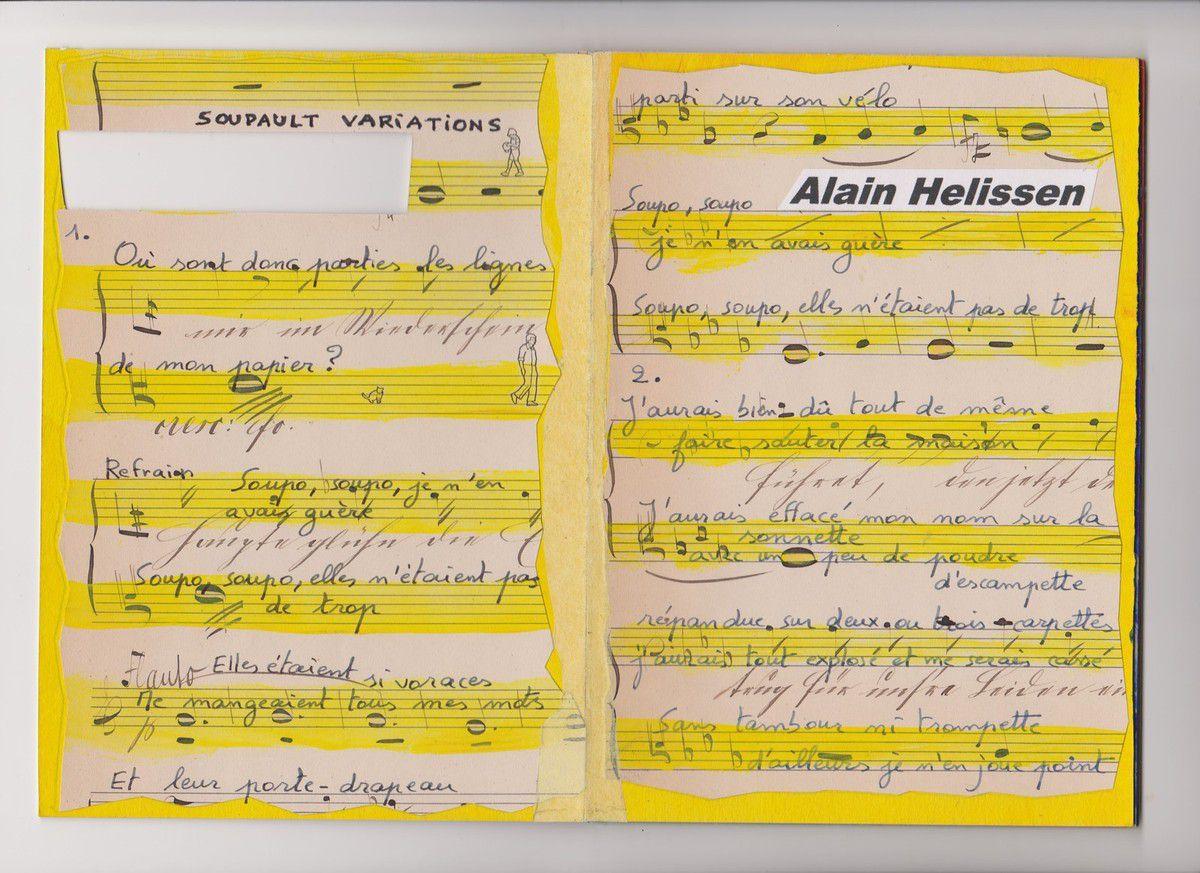 PARTITION, livre unique d'Alain Helissen