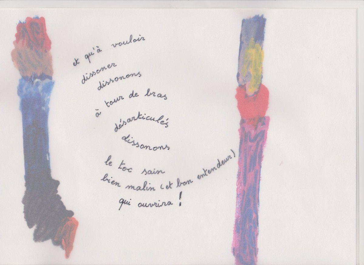 Dissonances, peintures de Danielle Busquet