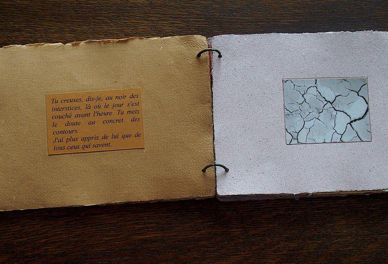 sur papier blanc, extraits du second exemplaire