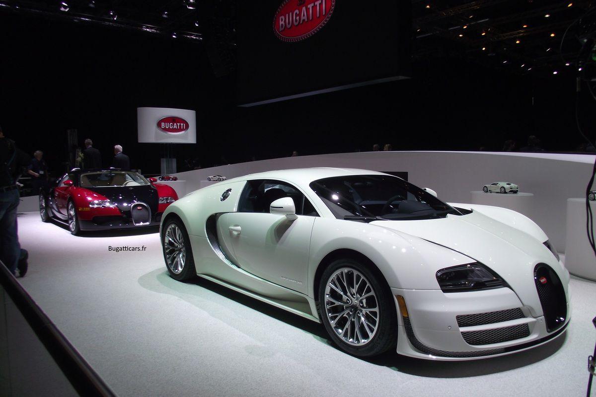 Bugatti au salon de Genève 2015 - Jour 1