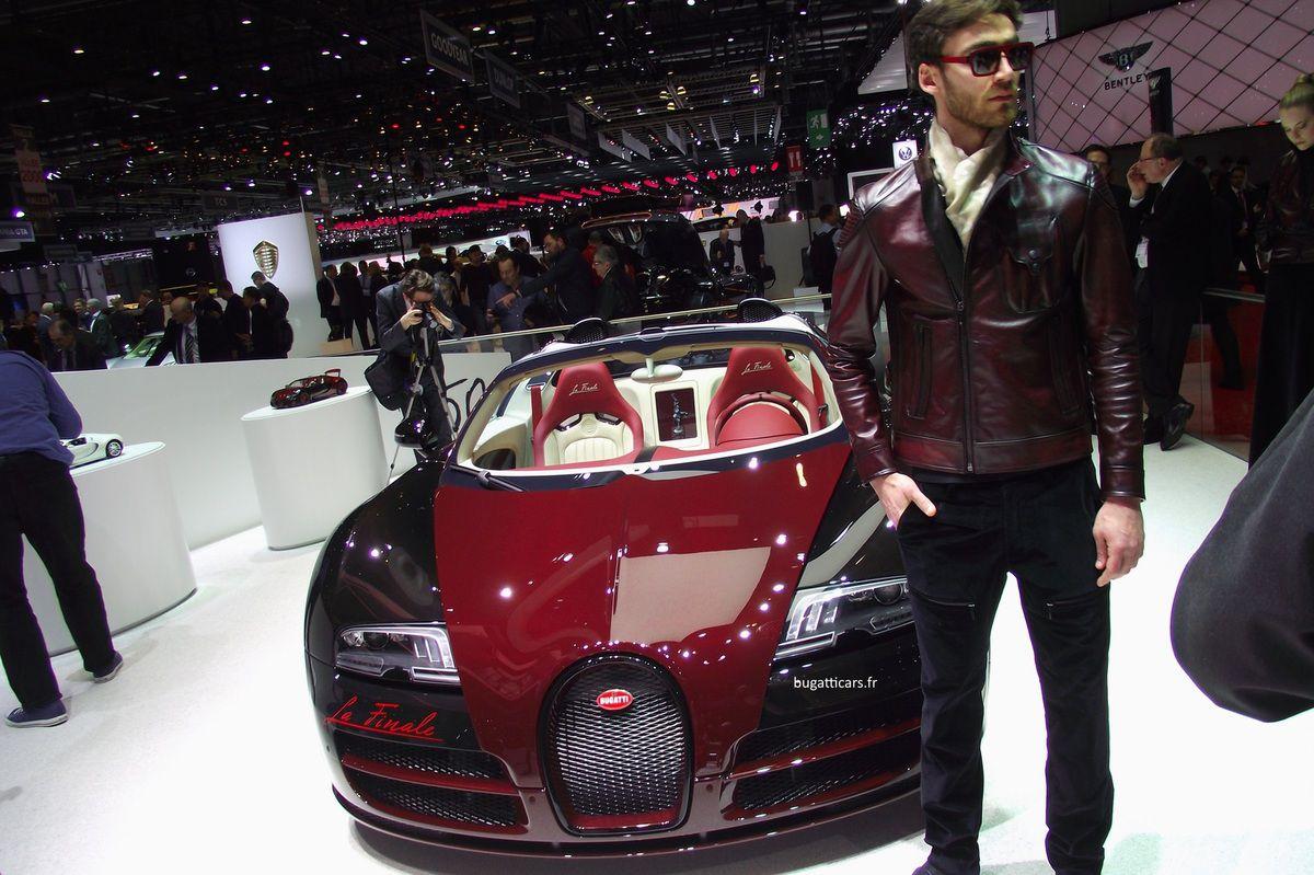 La Bugatti Veyron &quot&#x3B;La Finale&quot&#x3B; au salon de Genève 2015