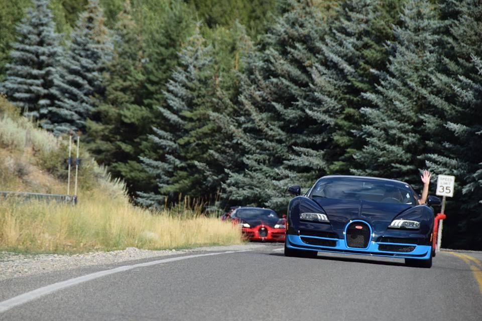 Bugatti au Sun Valley Road Rally 2015