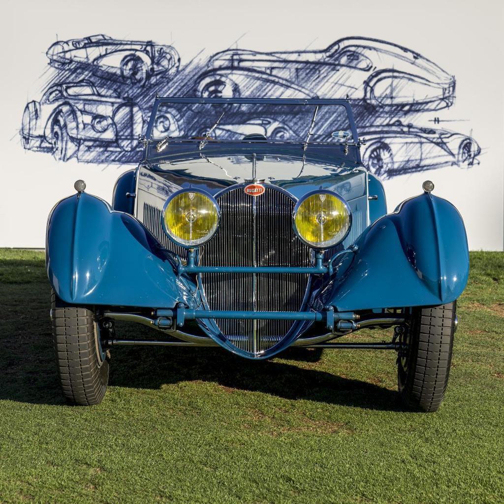 Bugatti à la Car Week 2015 de Pebble Beach