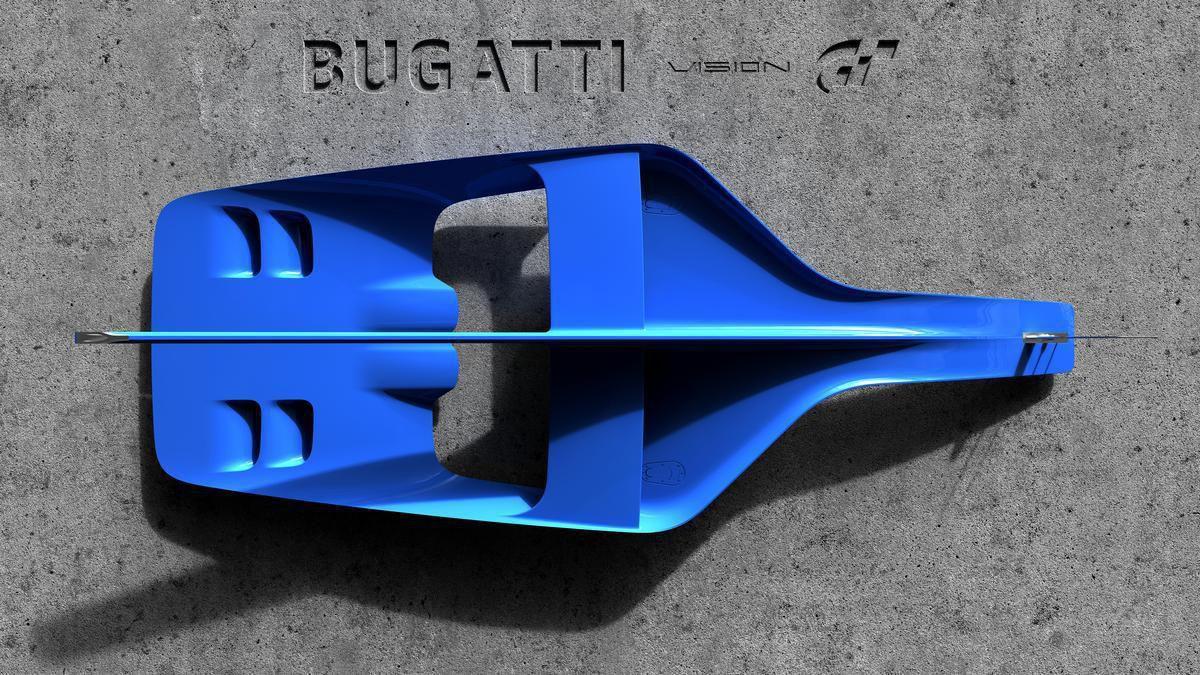 Première image du Bugatti Vision Gran Turismo