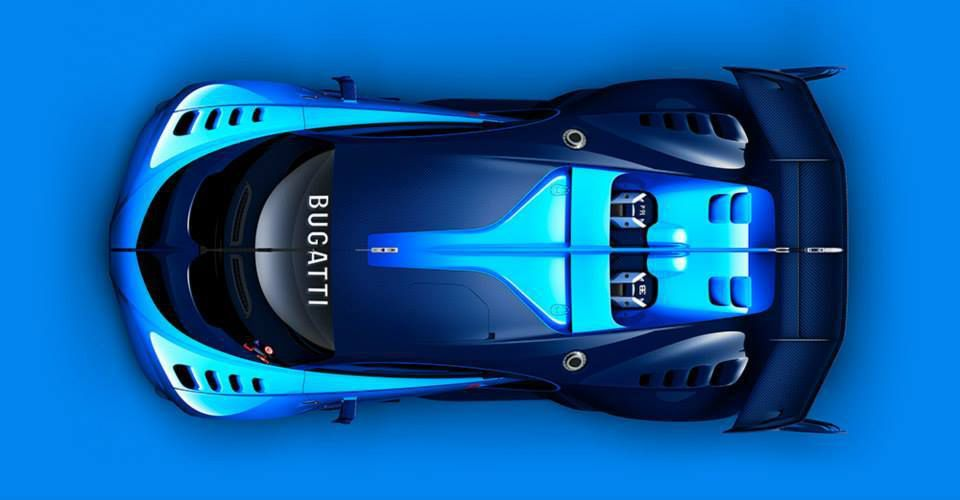 La Bugatti Vision Gran Turismo
