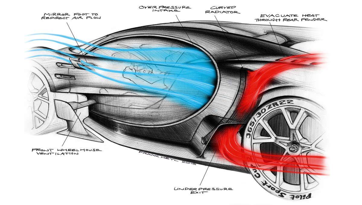 Les photos du concept Bugatti Vision Gran Turismo à Francfort