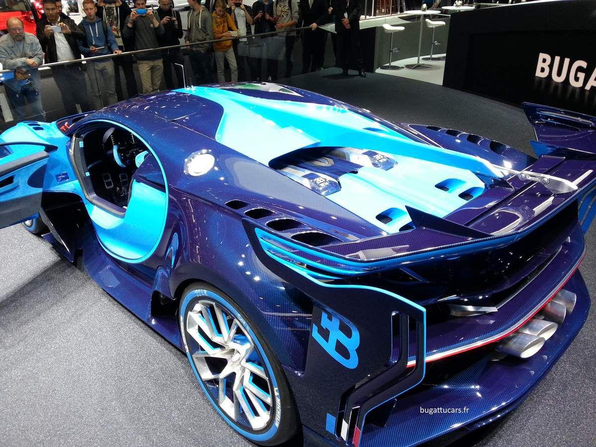 Photos et vidéo de la Bugatti Vision Gran Turismo à Francfort